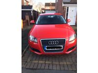 Red Audi A3 SE 2ltr TDI 2009 For Sale 59K Just serviced. New rear pads, discs and calipers.