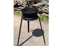 Handcrafted Bespoke Road Wheel BBQ
