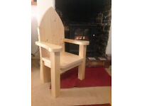 Handmade child's indoor story chair / storychair