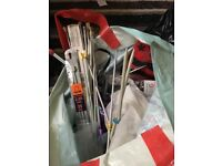 Vintage Knitting Needles, wool and other craft items