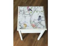 Shabby chic sewing table