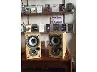 DENON SPEAKERS....designed by.. Mission....£60