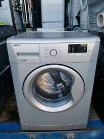 Silver'Beko' Digital Washing Machine -Excellent condition / Free local delivery and fitting
