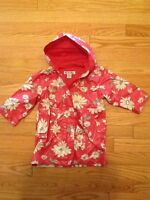 Old Navy Kids Floral Raincoat