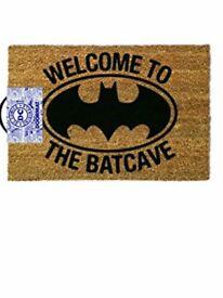 Batman door mat