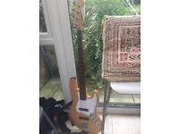 Bass guitar - ideal for beginners, great condition. Comes with case +practical lessons book