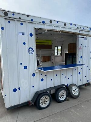 2010 - 6 X 14 Street Food Concession Trailer Used Mobile Food Unit For Sale