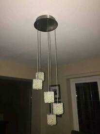 Next ceiling light and table lamp