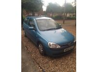 2003 VAUXHALL CORSA FOR SALE