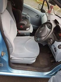 Citroen c3, blue, 1.4, 12month MOT