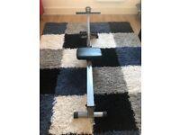 v-fit start single hydraulic rowing machine