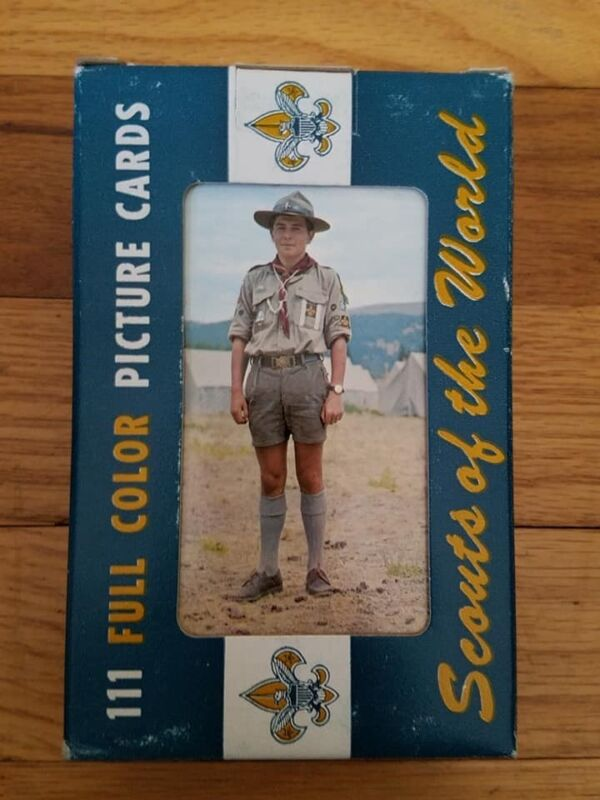 Scouts Of The World 111 Full Color Picture Cards 1968