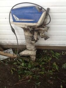 Boat motor. Has been sitting but ran prior to that