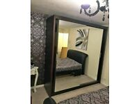 90cm, 120cm, 150cm, 180 cm and 203cm Chicago 2 door sliding wardrobe in white!!! cash on delivery