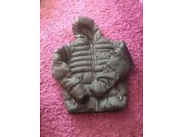 mans padded jacket worn once