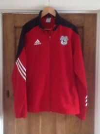 Cardiff City tracksuit jacket
