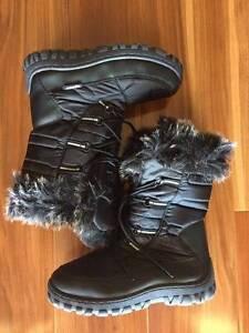Women's Nadja Snow Boots Black Windsor Gardens Port Adelaide Area Preview