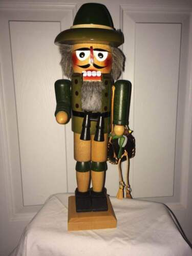 Steinbach Nutcracker - Jager Large Hunter - S706 – Signed/Box – RARE! - On SALE!