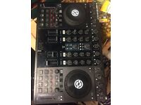 TRAKTOR S4 MK1 , WORKS GREAT, ONE FX KNOB A BIT LOOSE, ONLY 150 POUNDS
