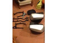 Ducati ST2/3/4. Nonfango hard luggage and racks