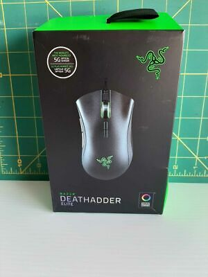 Razer DeathAdder Elite Wired Gaming Mouse - Black FREE SHIPPING