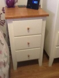 Bedroom furniture Wardrobe chest of drawers bookcase bedside table and shelf