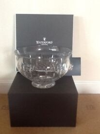 "Lismore 10"" Waterford crystal bowl"