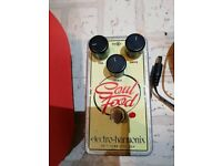 Electro Harmonix Soul Food Overdrive Guitar Pedal