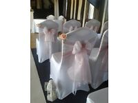 Hire. 100 White Lycra chair covers. North east area £200