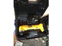 dewalt right angle battery drill