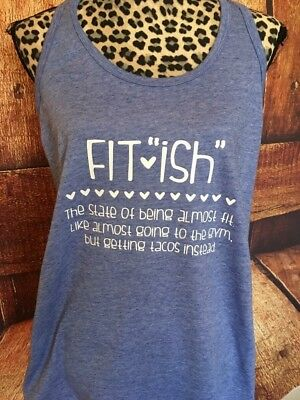 Funny Womens Work Out Tank Top  Funny Taco Lover Shirt  Fitness Racer Back Tank