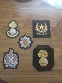 Blazer badge