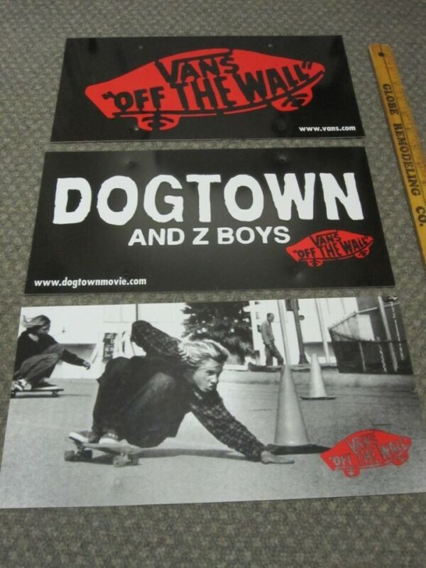 Vans Dogtown And Z Boys 2002 movie plastic display mobile Flawless New Old Stock