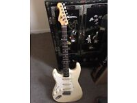 fenix left handed strat full working order vintage and rare, **can post**