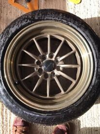 Bronze Ultralight UL12 Alloy wheels & Tyres
