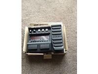 Guitar effects pedal zoom gfx 707