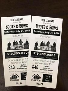 Boots & Bows Tickets