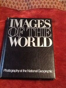 Leather national geographic photography book