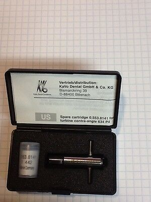 KAVO 634 P4 hand piece turbine.  Genuine made in Germany with back cap tool.