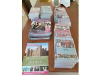 Downton Abbey DVDs Series 1-6 + 52 Magazines