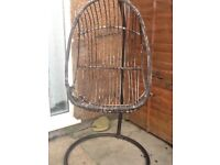 For sale: Bamboo love chair.