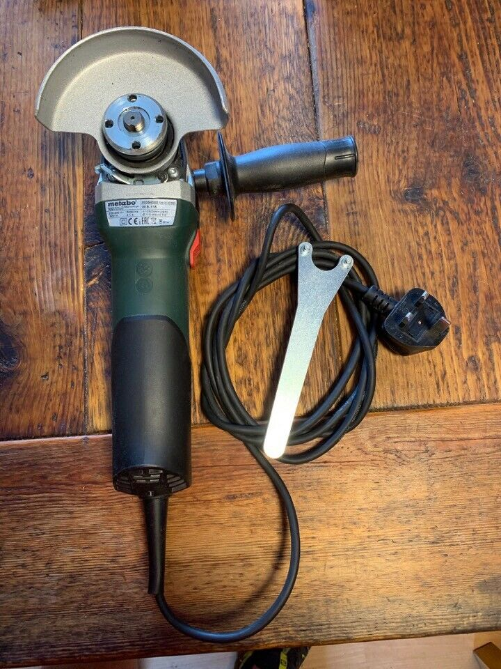 Pleasant Metabo W 9 115 Quick Protect 4 5 Inch Professional 900 Watt Angle Grinder In Nairn Highland Gumtree Theyellowbook Wood Chair Design Ideas Theyellowbookinfo