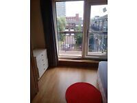 Big size double room with balcony in Isle of Dogs