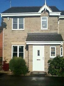 Lovely unfurnished 3 bedroom house for rent , available end of Feb