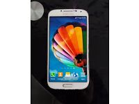 Samsung Galaxy S4 -white -unlocked ,can deliver