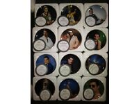 Freddy Mercury Danbury mint plates complete 12 collection