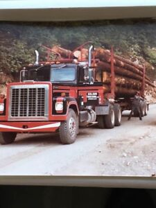 ISO looking for old 5 axle logging trucks!!!