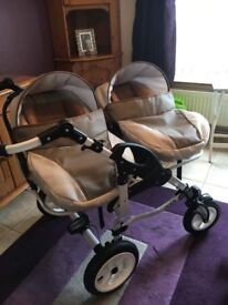 Double travel system