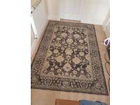 Large vintage effect rug 230cm x 158cm