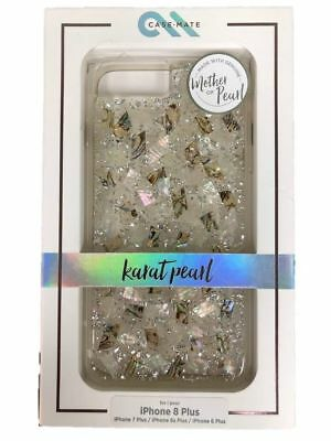 Label New Case-Mate Karat Pearl Case For iPhone 8 Plus 7 Plus Mamma of Pearl